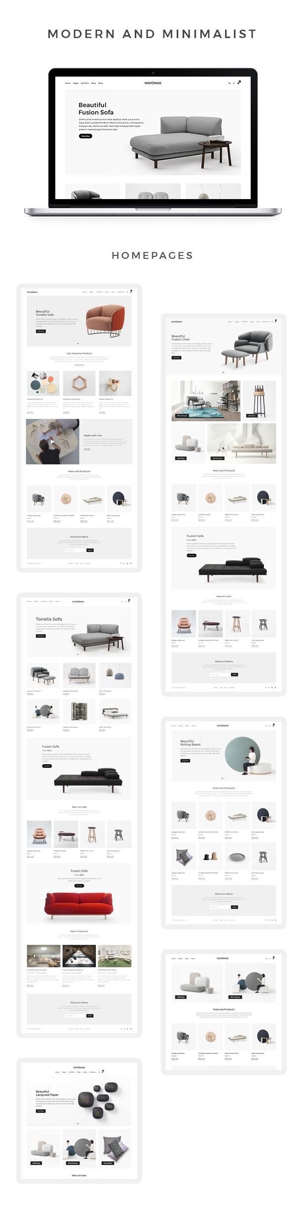 Dukandari – A Modern, Minimalist eCommerce Theme, Gobase64