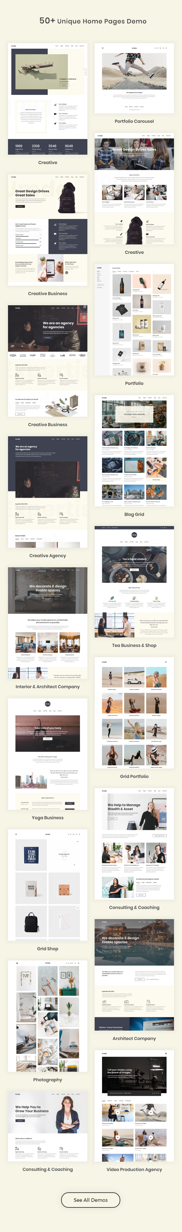 Umda – Responsive Multipurpose Creative Theme (Creative)